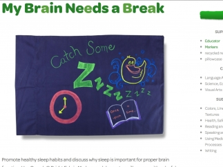 This sample lesson plan on the importance of sleep provides detailed instructions that combine art with individual research and presentations.