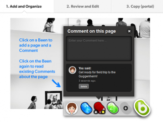 With Beanpod, users create a Been and then share it with others.
