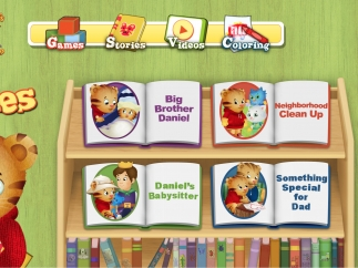Stories are about common experiences for preschoolers.