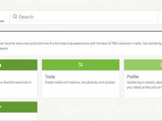 Use the dashboard to curate content and build your own lesson plans.