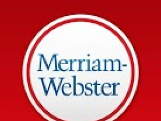 Main menu for Dictionary – Merriam-Webster.