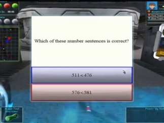 Answer multiple choice questions to advance