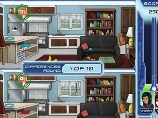 One mini-game involves spotting the disaster preparedness items that are missing from a picture.