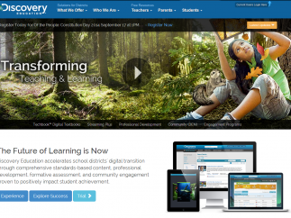 Discovery Education offers a large array of resources – some free.