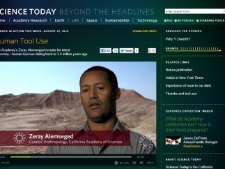 Science Today video clips share recent scientific discoveries.