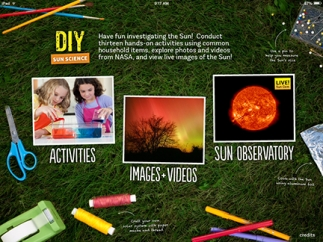 Complete hands-on activities, view images and videos, or check out live images of the sun.