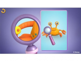 Use the magnifying glass to find tears and scatches.