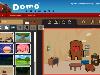 Domo Animate lets users create charming animated stories in Domo's world and beyond.