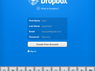 Teachers and kids can create a free Dropbox account to share documents.