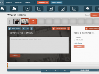 Users can edit tours and add questions, discussions, photos, text, and drawings.