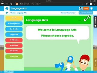 The site is easy to navigate, for both teachers and students.