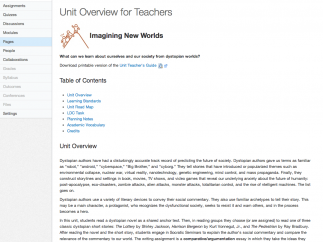 The Unit Overviews for teachers cover many common questions that may arise.