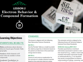 Lesson plans are provided on the website to help teachers use the app.