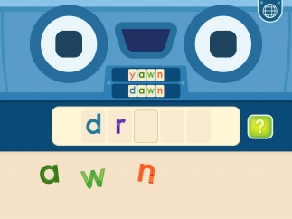 As kids place each letter, they hear how the word changes based on the newly added letter.