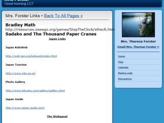 SchoolRack's sites are basic in function yet easy to create and use.