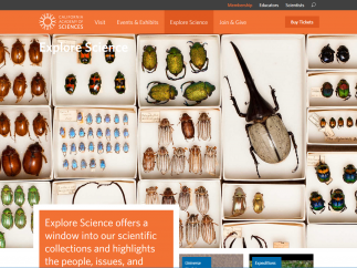 The museum's scientific collections are all captured in one place.