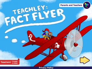 Practice multiplication and division facts by guiding a plane toward correct answers.
