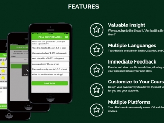 Simple-to-use features available on multiple platforms.