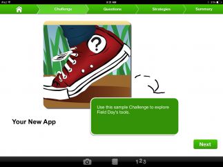 Tool helps kids organize and gather data for project-based learning.