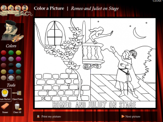 This coloring page could be a great introduction for lower elementary school students.