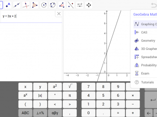 Download GeoGebra for its graphing calculator.