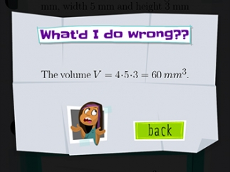 Get basic feedback for incorrect answers.