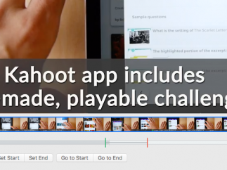 Editing is pretty simple: Add clips and then set start and end points.