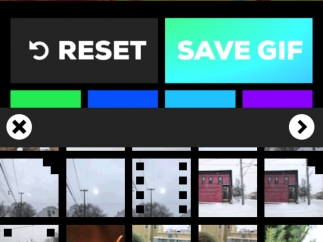 Record right from your phone or grab images and video from your phone's library.