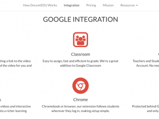 Great integrations with Google.