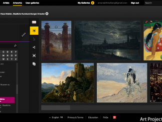 Use the image viewer to browse online collections from hundreds of museums.