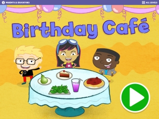 Tap the green button and get ready to serve birthday guests! Parents and educators can read about the research behind development.