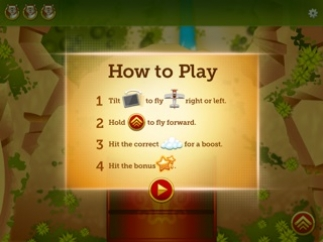 Brief instructions explain how to play each game.