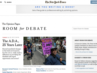 The home page shows rising and debatable issues