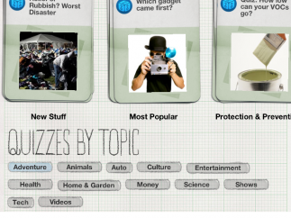 Interactive quizzes challenge teens and inform them in short snippets explaining each answer.