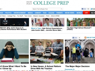 The College Prep site may offer teens more useful information.