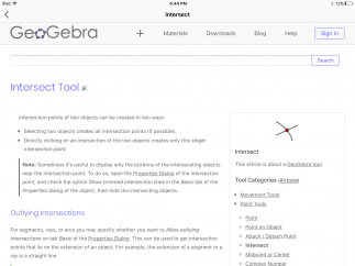 Click on the Help button to find support for the use of each tool.