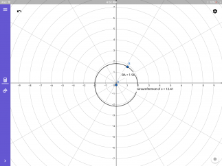 Change the grid background to suit your graphing needs.