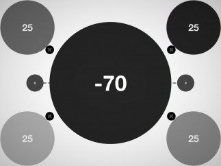 Negative numbers occasionally appear to add extra challenge.