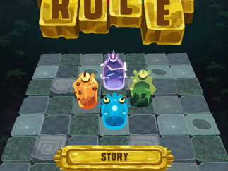 As the title screen hints, this is a leisure game first, a learning exercise second.