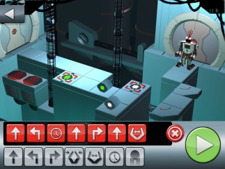 Number of commands and complexity of the puzzles increases each level