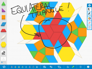 A pen tool allows for easy annotation.