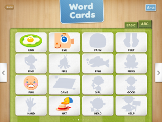 Bright and engaging graphics appear as students complete sight words and letters.