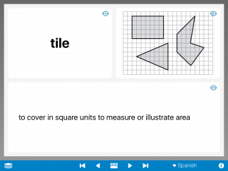 Some of the terms are less math concepts and more testing language, which can be helpful.