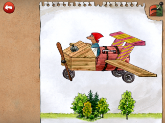 Challenges include building objects such as airplanes.