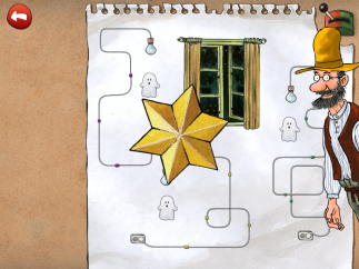 Get a gold star for successfully completing a challenge.