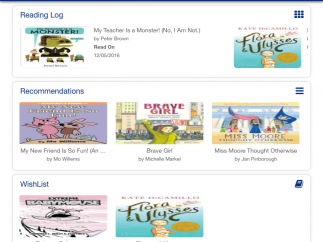 Track reading, access book recommendations, and create a wish list for future reading.