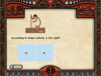 Some questions are especially obscure without significant prior knowledge of Mayan life and culture.