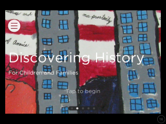 One version of the tour is just for kids, featuring a child as narrator and a guide to visiting a museum.