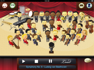 Learn the Orchestra lets kids explore classical music and instruments.