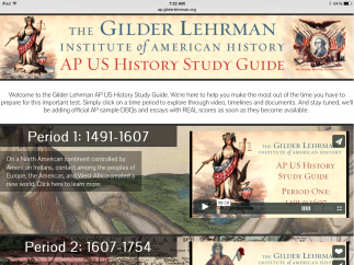The Gilder Lehrman Institute offers a wealth of resources for studying American history.